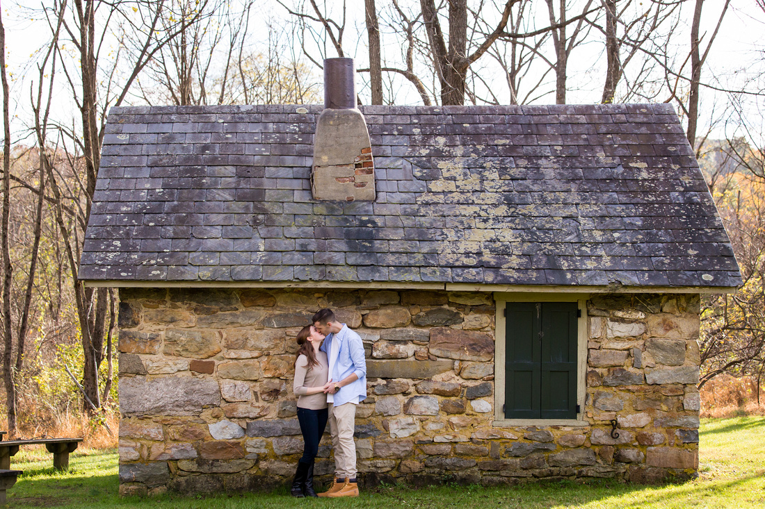 Morgan & Cody's Engagement Session at Jacobsburg Park