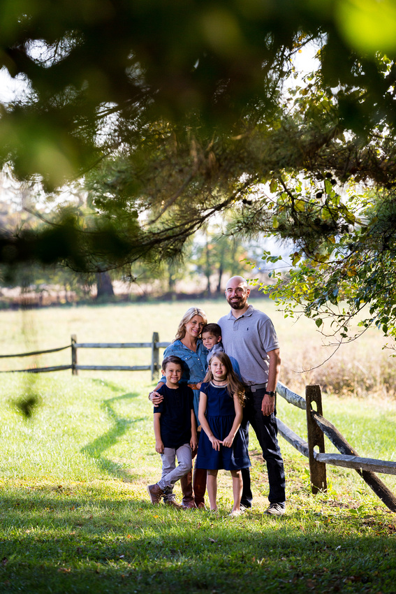 Fall Family Session at Louise Moore Park