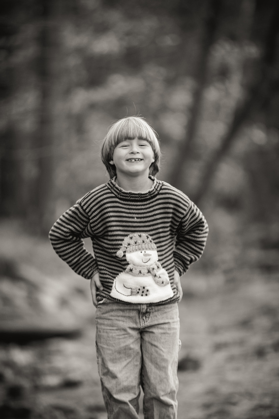 Family session at South Abington Park